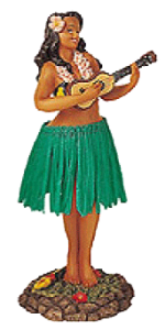 Hawaii Hula Girl 3