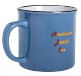 Mug Bleu façon Vintage